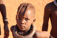 Himba child, Namibia Royalty Free Stock Image