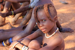 Himba child, Namibia Royalty Free Stock Images