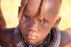 Himba child, Namibia Stock Image