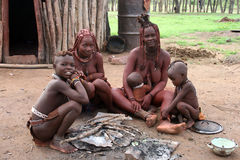 Himba Family Stock Images