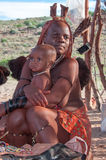 Himba Frauen lizenzfreies stockbild