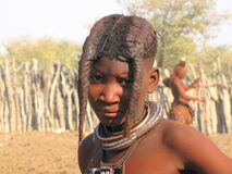 Himba girl Royalty Free Stock Image
