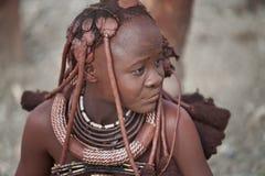 Himba girl Stock Image