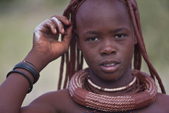 Himba girl Royalty Free Stock Photo