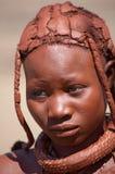 Himba girl in Namibia Royalty Free Stock Image