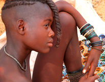 Himba girl, Namibia Stock Photos
