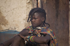 Himba girl Stock Photo