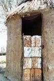 Himba-Hütte Stockfotografie