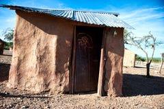 Himba house, Namibia, Africa Royalty Free Stock Photo