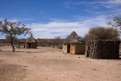 Himba huts Royalty Free Stock Images