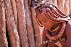 Himba kvinna arkivfoto