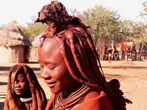 Himba namibiano de la tribu foto de archivo libre de regalías