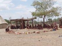 Himba. Native african peolple Royalty Free Stock Image