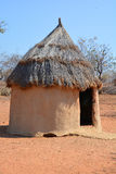 Himba tribe village Stock Image