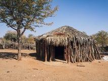 Himba. Village, Epupa Falls, Namibia Stock Photography