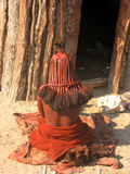Himba woman Stock Photo