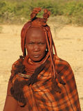 Himba woman Stock Photography