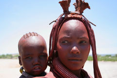 Himba Woman Stock Photos