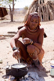 Himba woman Royalty Free Stock Photo