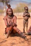 Himba woman Stock Image