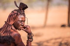 Himba woman Royalty Free Stock Photos
