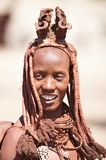 Himba woman in Namibia Stock Images