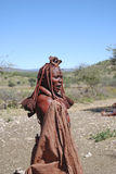 Himba woman. Native african peolple Stock Image
