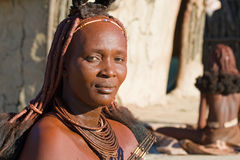 Himba woman portrait Royalty Free Stock Images