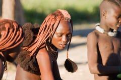 Himba woman portrait Royalty Free Stock Photo