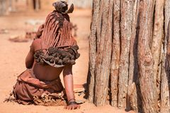 Himba woman Royalty Free Stock Images