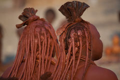 Himba women Stock Photo