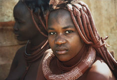 Himba women Stock Photos