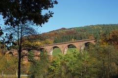 Himbaechel viadukt arkivbild