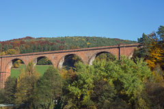 Himbaechel viadukt Royaltyfria Bilder