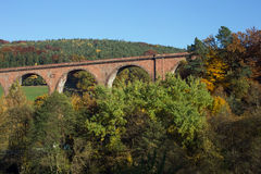 Himbaechel viadukt Royaltyfri Bild