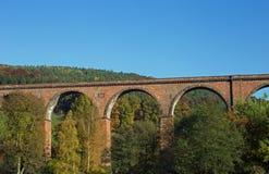Himbaechel viadukt arkivbilder