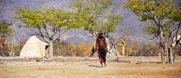 Himbas Stock Image