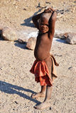Himbas. The Himba are indigenous peoples  living in northern Namibia, in the Kunene region Royalty Free Stock Photos