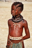 Himbas. The Himba are indigenous peoples  living in northern Namibia, in the Kunene region Stock Images