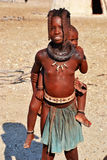 Himbas. The Himba are indigenous peoples  living in northern Namibia, in the Kunene region Royalty Free Stock Images