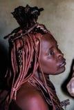 Himbavrouw royalty-vrije stock fotografie