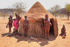 Himbavrouw royalty-vrije stock foto's