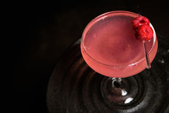 Himbeerrosa Cocktail Lizenzfreie Stockfotos