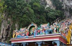 Himdu świątynia przy Batu Zawala się zdjęcie royalty free