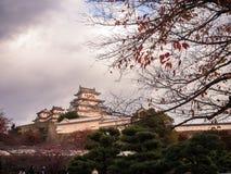 Himeijikasteel Japan stock afbeelding