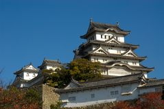 Himeji Castle Royalty Free Stock Photo