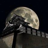 Himeji Castle. 3D Render of the Himeji Castle Royalty Free Stock Photo