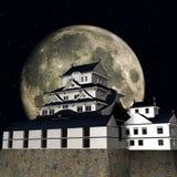 Himeji Castle. 3D Render of the Himeji Castle Stock Images
