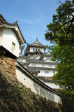 Himeji castle. The beautiful Himeji castle, probably the only one completely original, UNESCO world heritage, Japan Royalty Free Stock Photos