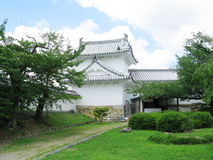 Himeji Castle defensive tower Stock Photo